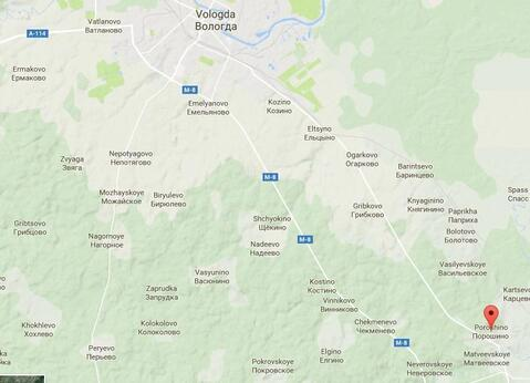 Продажа участка, Порошино, Вологодский район - Фото 3