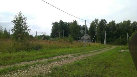 Участок ИЖС 26 соток, электричка, асфальтированный подъезд к деревне - Фото 1