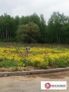 Прилесной участок 17,66 соток с видом на пруд, 30км по Калужскому ш. - Фото 2