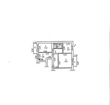 Трехкомнатная квартира в центре Аксая - Фото 2