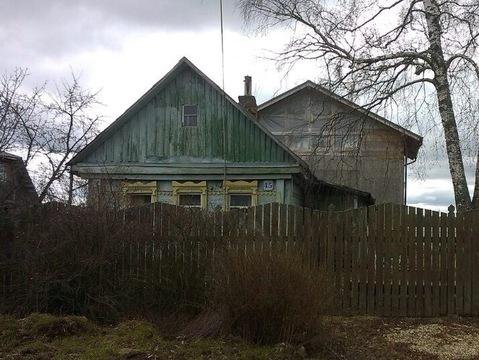 Дом из бруса на участке 16 соток в д. Новогорбово, Рузский район - Фото 1