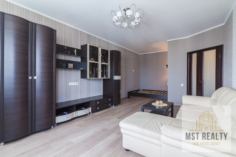 Однокомнатная квартира с эркером в центре города Видное - Фото 2