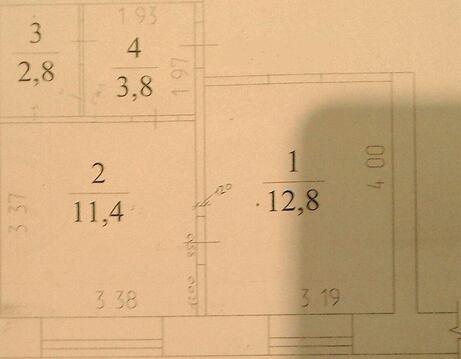 Кгт 2 комнатная, Тухачевского, 38/1 за 800 т.р. срочо - Фото 1