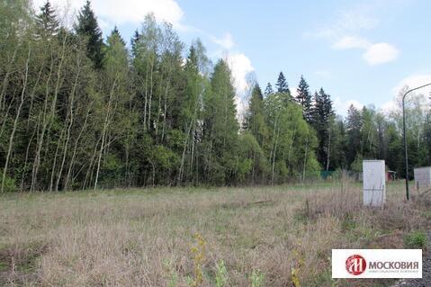 Участок с лесным массивом в коттеджном поселке в Наро-Фоминском районе - Фото 1