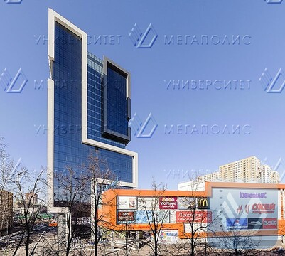 Сдам офис 97 кв.м, бизнес-центр класса A «Водный» - Фото 1