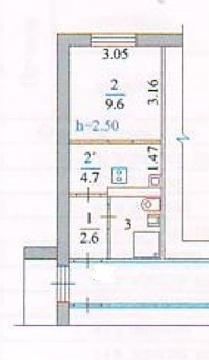 Продам 1-к квартиру, Благовещенск г, Нагорная улица 5/3 - Фото 2
