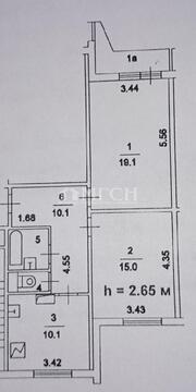 Продажа 2 комнатной квартиры м.Алма-Атинская (Братеевская улица) - Фото 1