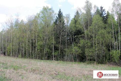 Участок с лесным массивом в коттеджном поселке в Наро-Фоминском районе - Фото 3