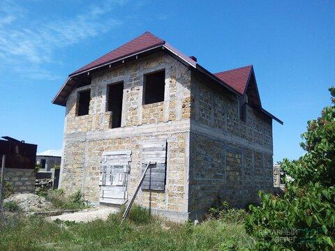 Продается недостроенный 2-х этажный дом в ст Дельфин на Фиоленте - Фото 3