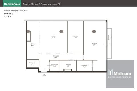Продажа квартиры, Б. Грузинская улица - Фото 1