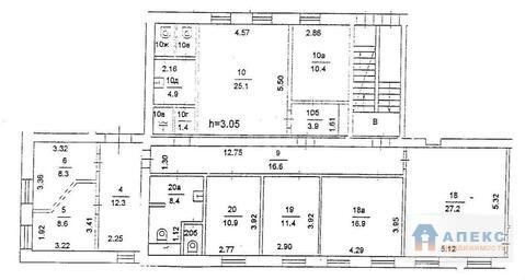 Аренда офиса 175 м2 м. Проспект Вернадского в бизнес-центре класса В в . - Фото 3