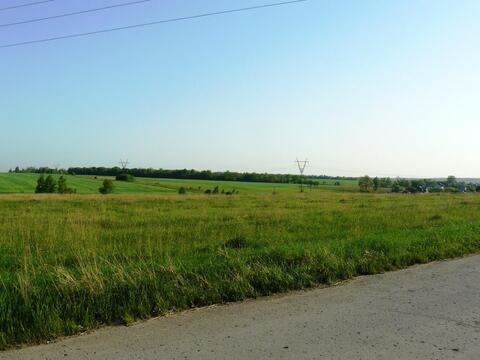 Ушаковка деревня участок 18,55 гектар Заокский район Тульская область - Фото 4