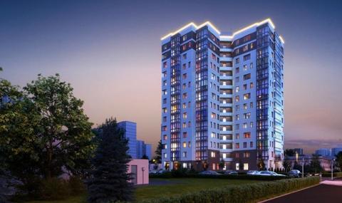 2-к. кварт. 60,92 кв.м. в элегантном доме бизнес-класса ЗАО г. Москвы - Фото 3