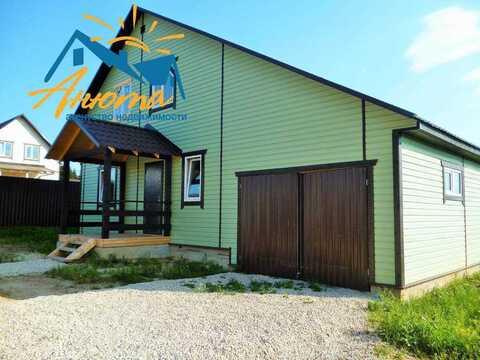 Продается дом с газом и гаражом на берегу озера в Жуковском районе - Фото 4