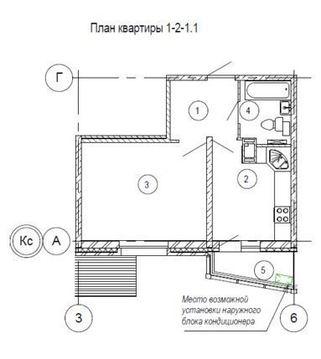 Однокомнатная квартира в ЖК Изумрудные Холмы - Фото 2