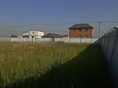 Уч-ток с фундаментом 9.3сот. ИЖС пос. Солнечный берег южнее д.Чурилово - Фото 1