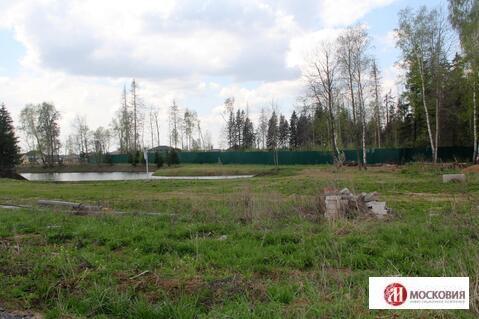 Участок у пруда и леса с лесной посадкой и личным водоемом, Киевское ш - Фото 3