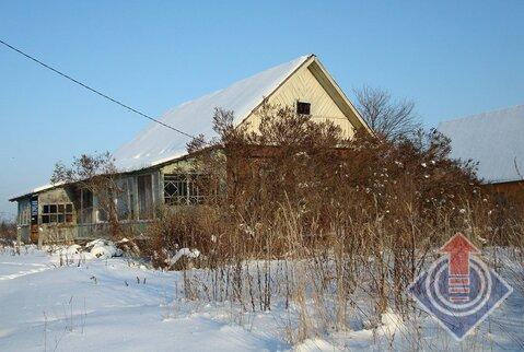 Дом из бревна 76 м2 в д. Алексино на ул. Центральной - Фото 1
