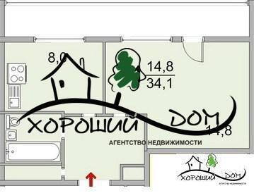 Продаю 1-комнатную квартиру в Зеленограде, к. 1603 - Фото 2