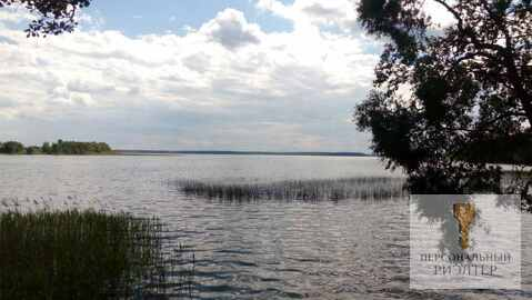 Участок возле озера - Фото 1