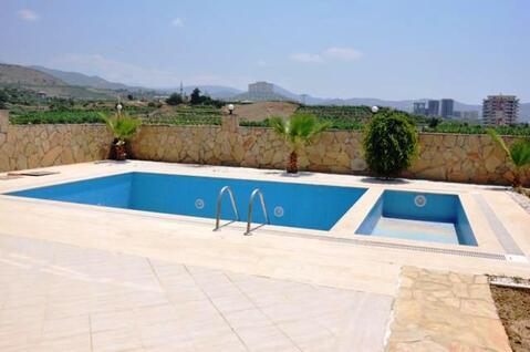 Продается триплекс вилла с бассейном в Алании Махмутлар - Фото 2