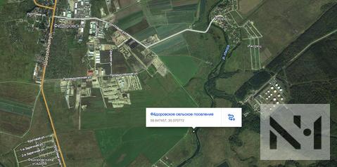 Продаются 34 сот. земли на первой линии реки Ижора в дер. Федоровское - Фото 3
