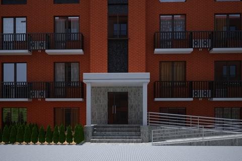 Уютная квартира-студия в добротном кирпичном новом доме. - Фото 3