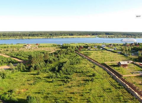 Участок рядом р.Волга и сосновым бором - Фото 4