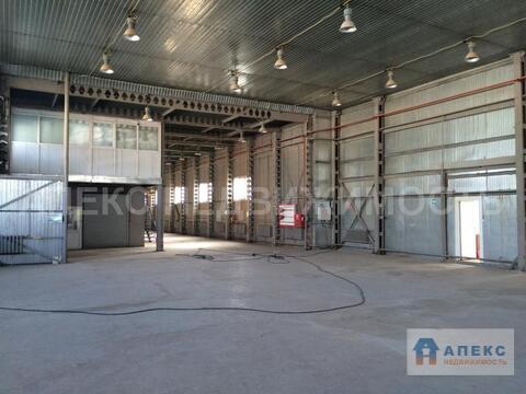 Аренда помещения пл. 870 м2 под склад, производство, , Апрелевка . - Фото 1