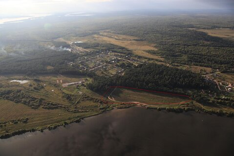 Эксклюзивный участок 459 соток, ИЖС, на первой линии реки Волга - Фото 2