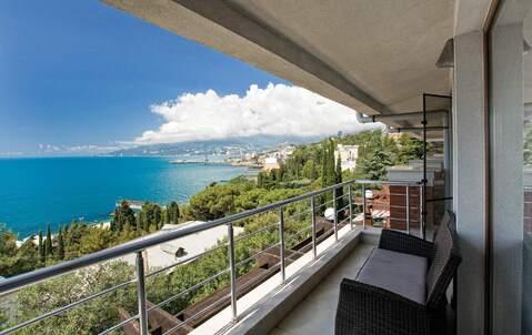 Шикарные двухуровневые апартаменты с видом на море в комплексе - Фото 4