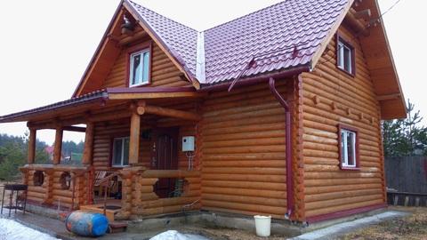 Продается новый обжитой дом в д. Песьяне - Фото 1