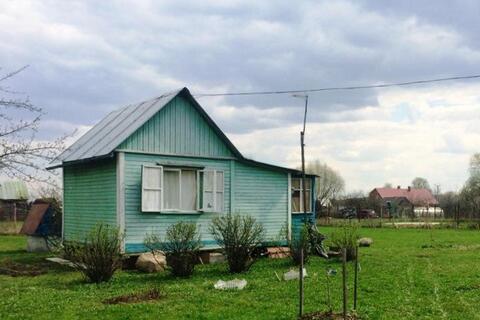Земельный участок 12 соток с дачным домиком в Домодедовском р-не. - Фото 1