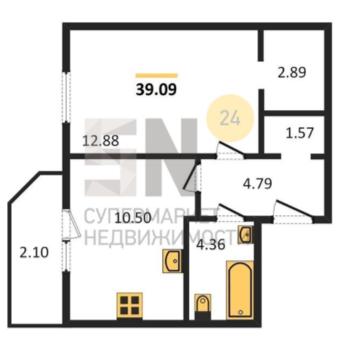 1-ка в новом жилом комплексе