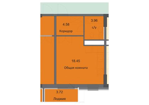 Продается квартира-студия в ЖК Циолковский, г. Обнинск - Фото 2
