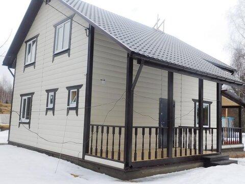 Дом 160 м кв , 11 соток, Калужское ш Папино - Фото 1
