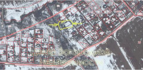 Участок, Каширское ш, 45 км от МКАД, Острожки д. (г. Домодедово). . - Фото 5
