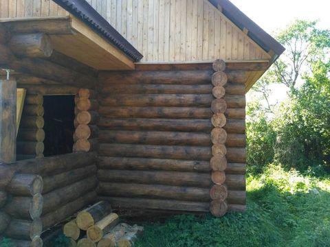 Дом новый бревенчатый на участке 15 соток - Фото 5