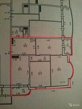 Купить трехкомнатную квартиру с ремонтом в Новороссийск, Пикадилли. - Фото 4