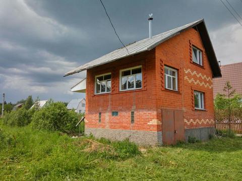 Кирпичный дом на 6 сот, СНТ 70 лет влксм, Москва, пос Вороновское - Фото 1