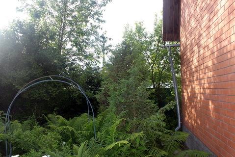 Дача у леса в Пыхчево. Теплый дом из бруса обложен кирпичом - Фото 2