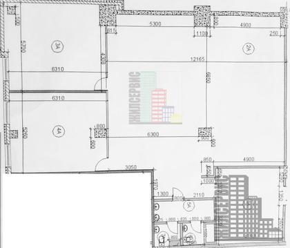 Офис 237м без комиссии с ремонтом в БЦ А-класса - Фото 4