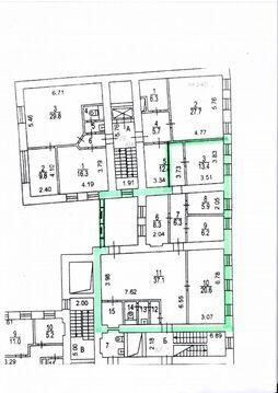 Аренда офиса, 120 кв.м, ЦАО, г. Москва, метро Цветной бульвар, . - Фото 2