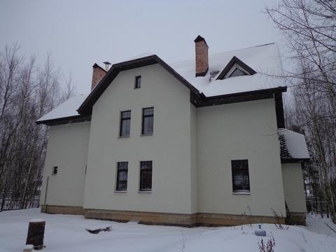 Дом, Калужское ш, 25 км от МКАД, Пучково. Калужское шоссе, 25 км от . - Фото 1