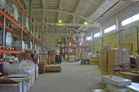 Сдается теплое помещение под склад 2319.3м2, 1-2эт, h-8.9м, Новикова - Фото 1