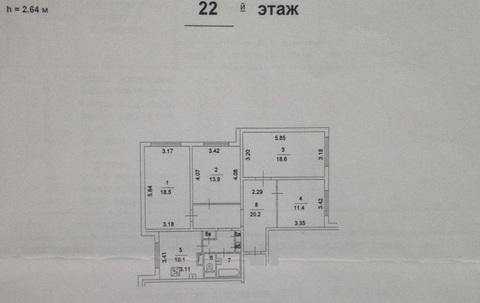 Продаю 4х комнатную квартиру у м Алтуфьево - Фото 1