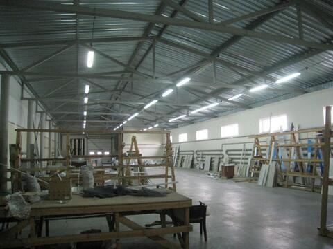 Аренда теплых производственно-складских помещений 700 кв.м. - Фото 1