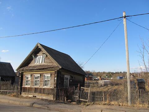 Деревянный дом и участок 6,5 сот в д.Бор Кировского р-на (85км от спб) - Фото 3
