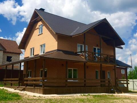 Чудесный дом 260 кв.м д. Углешня Чеховский р-н, 40 км от МКАД - Фото 1