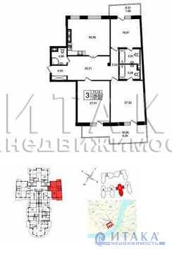Продажа квартиры, м. Крестовский остров, Ул. Вязовая - Фото 2